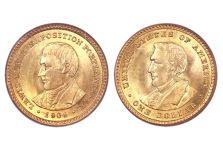 1904-05 Lewis & Clark Exposition Gold Dollar