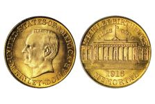 1916-17 McKinley Memorial Gold Dollar