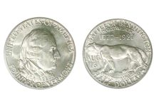 1927 Vermont/Battle of Bennington Sesquicentennial Half Dollar