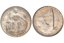 1935-36 California-Pacific Exposition 'San Diego' Half Dollar