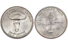 1935 Old Spanish Trail Memorial Half Dollar