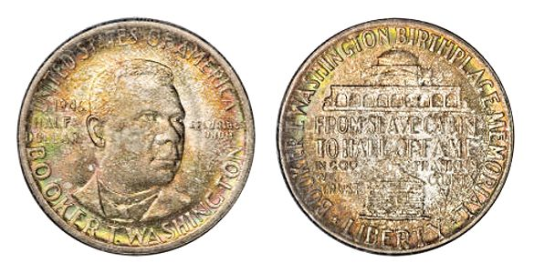 1946 51 BookerTWashingtonMemorial HalfDollar 1946 51 Booker T. Washington Memorial Half Dollar