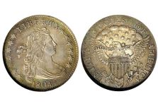 Dimes – Ten Cent Draped Bust Heraldic Eagle, 1798-1807