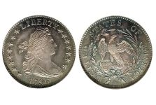 Dimes – Ten Cent Draped Bust Small Eagle, 1796-1797