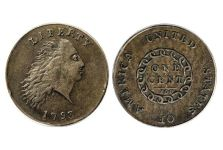 Large Cents – 1793 Chain Cent – America Reverse