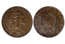 Large Cents – 1793 Wreath Cent