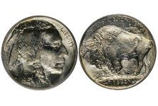 5 Cent Nickels – 1913 Type 1 Buffalo Nickel (1913 Only)