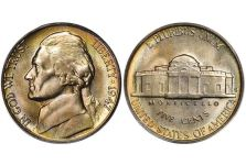 5 Cent Nickels – Jefferson Nickel, 1938-2003