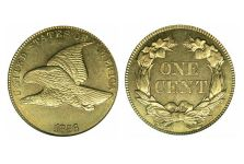 Small Cents – One Cent Flying Eagle, 1856-1858
