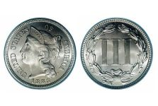 Three Cents Nickels – Three Cent Nickel 1865-1889