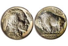 5 Cent Nickels – Buffalo Nickel, Type 2, 1913-1938