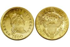 Eagles – Capped Bust Eagle, Heraldic Eagle, 1797-1804
