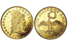 Half Eagles – $5.00 Gold Capped Bust Small Eagle 1795-1798