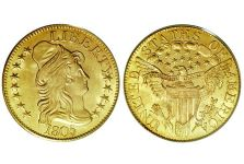 Half Eagles – Capped Bust Half Eagle, Large Eagle 1795-1807