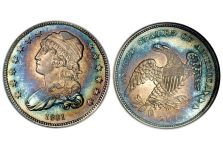 Quarters – Capped Bust Quarter, Small Diameter, 1831-1838