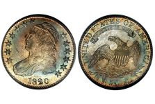 Half Dollars – Capped Bust, Lettered Edge Half Dollar, 1807-1836