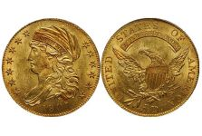 Half Eagles – Capped Draped Bust Half Eagles, 1807-1812