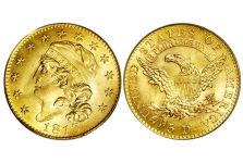 Half Eagles – Capped Head Half Eagle, 1813-1834