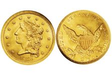 Quarter Eagles – Classic Head Quarter Eagle, 1834-1839