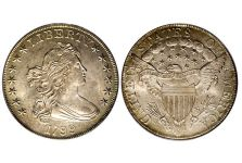 Dollars – Draped Bust Dollar, Heraldic Eagle, 1798-1804