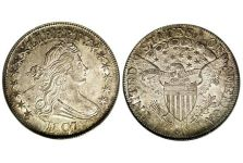Half Dollars – Draped Bust Heraldic Eagle Half Dollar, 1801-1807
