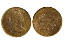 Half Cents – Draped Bust Half Cent, 1800-1808