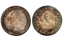 Half Dollars – Draped Bust Small Eagle Half Dollar, 1796-1797