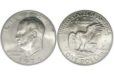 Dollars – Eisenhower Dollar, 1971-1978