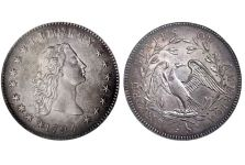 Dollars – Flowing Hair Dollar, 1794-1795