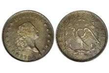 Half Dollars – Flowing Hair 1794-1795 Half Dollar