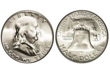 Half Dollars – Franklin Half Dollar, 1948-1963