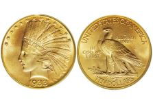 Eagles – Indian Head Eagle, With Motto, 1908-1933