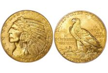 Half Eagles – Indian Head Half Eagle 1908-1929