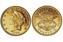 Double Eagles – Liberty Head Double Eagle, With Motto, 1866-1876
