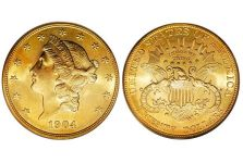 Double Eagles – Liberty Head Double Eagle, With Motto, 1877-1907
