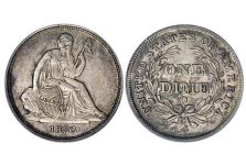 Dimes – Liberty Seated Dime, No Obverse Stars, 1837-1838