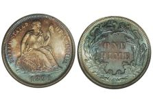 Dimes – Liberty Seated Dime, Obverse Legend, 1860-1891