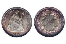 Half Dimes – Liberty Seated Half Dime, Legend, 1860-1873