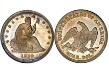 Quarters – Liberty Seated Quarter, No Motto, No Drapery, 1838-1840