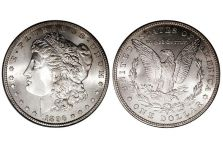 Dollars – Morgan Dollar, 1878-1921