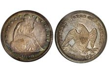 Dollars – Liberty Seated Dollar No Motto, 1840-1866