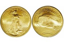 Double Eagles – Saint-Gaudens Double Eagle, With Motto, 1908-1933