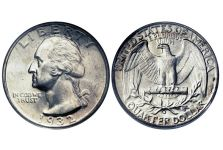 Quarters – Washington Quarter, 1932-1964