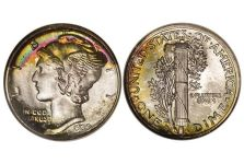 "Dimes – Winged Liberty (""Mercury"") Dime, 1916-1945"