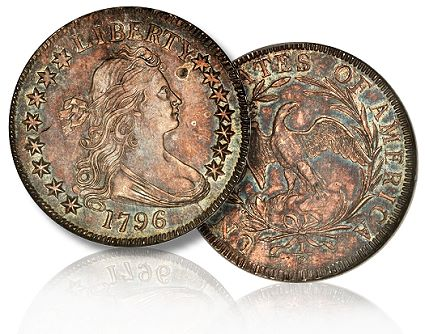 Coin Profile: Norweb Specimen of the 1796 15 Stars Small Eagle Half Dollar Highlights B&M Sale in Baltimore