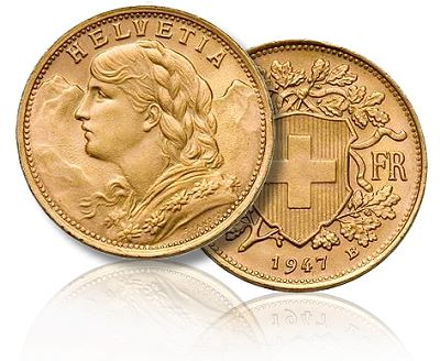 The Legacy of the Swiss Vreneli Gold Coin