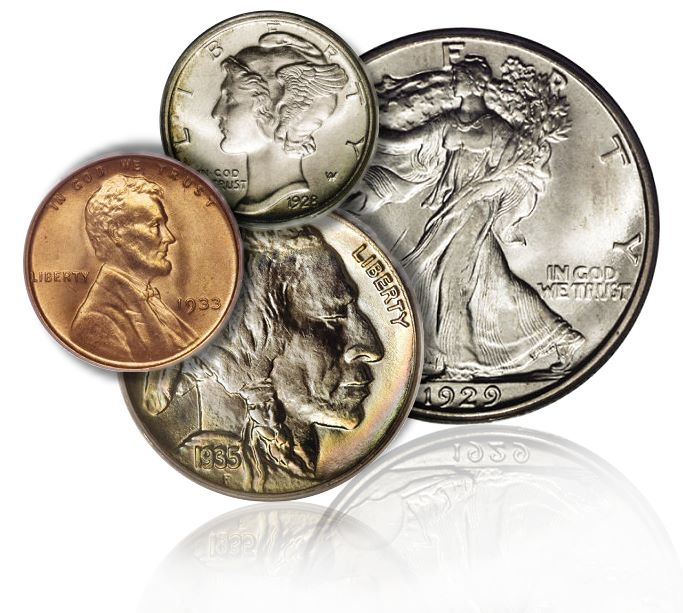 Coin Rarities & Related Topics: Coins Minted After 1934 tend to be Very Common, 1793 to 1933 is the Classic Era – Part 2