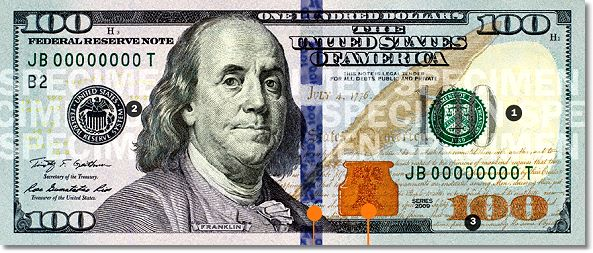 "Useless Money: Production ""Error"" to Cause Delay in New $100 Bill Debut"