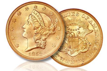 The Finest New Orleans Double Eagle Gold Coin to be Sold at FUN