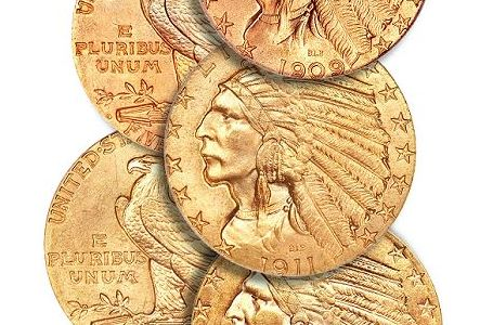 Coin Rarities & Related Topics: O'Neal Collection of Indian Head $5 Gold Coins
